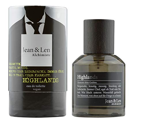 Jean & Len Herrenduft Highlands, Parfüm für Herren, Eau de Toilette,...
