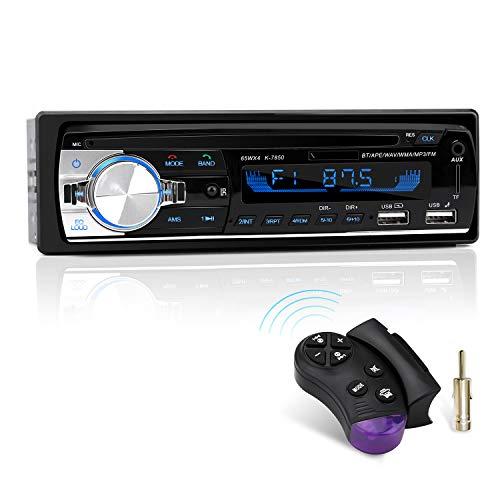 Autoradio mit Bluetooth Freisprecheinrichtung und...