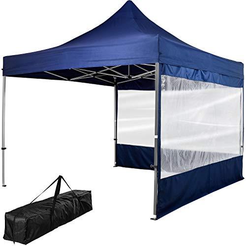 INSTENT® Pro 3x3m Alu-Pavillon, WASSERDICHT (SGS geprüft) +...