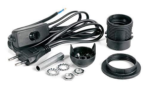 VBS Lampenfassung-Set für Tischlampen und Hängelampen E27 mit...