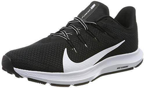Nike Herren Quest 2 Laufschuhe, Schwarz (Black/White 002), 43 EU