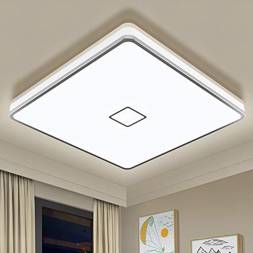 Badlampe 24W LED Deckenleuchte Bad Airand LED Deckenlampe IP44...