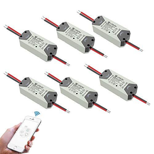 eMylo Smart WiFi Lichtschalter Wireless Relay Switch Modul...