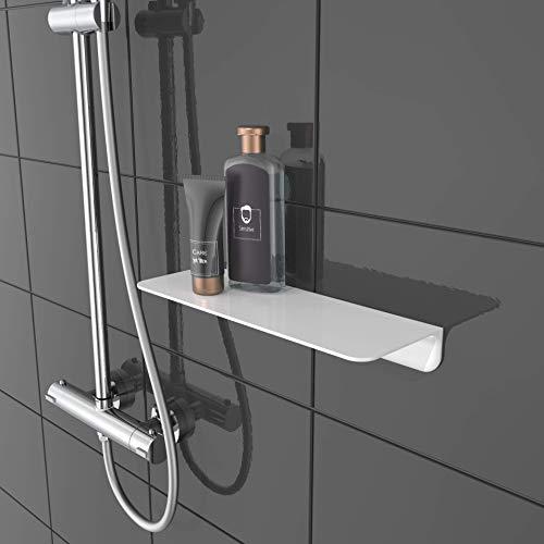 SCHÜTTE 10500 Duschablage selbstklebend Duschregal ohne Bohren...