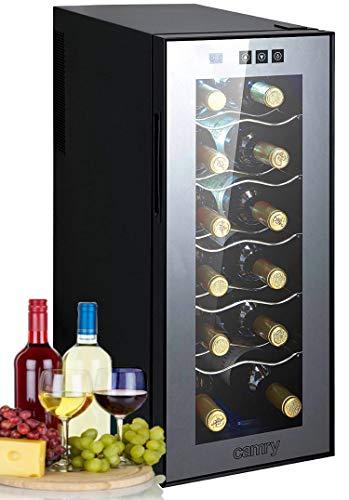 Weinkühlschrank 33 Liter 12 Flasche Weinkühler Weinklimakühlschrank...