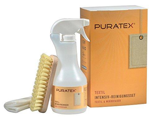 PURATEX Textil Intensiv-Reinigungs Set 500 ml Reiniger plus Zubehör