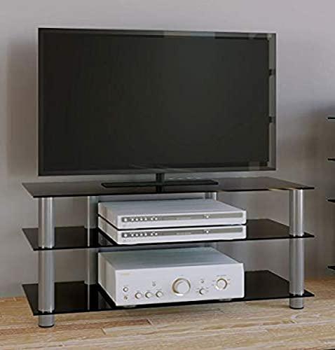 VCM TV Rack Lowboard Konsole LCD LED Fernsehtisch Möbel Bank...