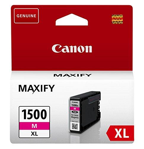 Canon Tintenpatrone PGI-1500 XL M - magenta 12 ml ORIGINAL für MAXIFY...