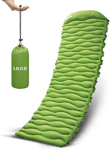 LHNK Camping Isomatte Aufblasbare Ultraleicht Schlafmatte Mit...