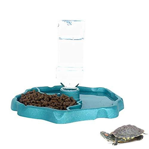 X-zoo Näpfe für Reptilien, Schildkröten Wasserschale 2-in-1...