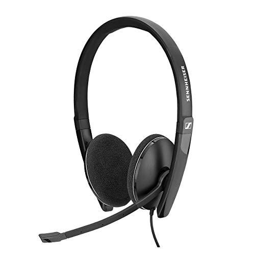 Sennheiser PC 8.2 USB-On-Ear Headset PC, Kopfhörer mit Kabel,...