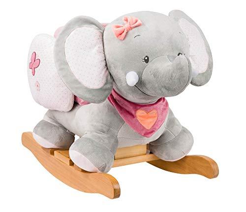 Nattou Schaukeltier Elefant Adèle, 10 - 36 Monate, 60 x 39 x 50 cm,...