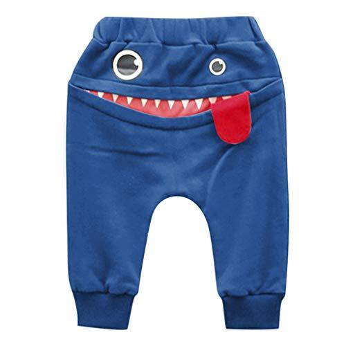 TinaDeer Kinderhose für Jungen und Mädchen, Babyhose, Cartoon Muster...