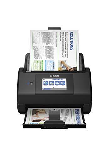 Epson WorkForce ES-580W Scanner, Dokumentenscanner (scannt ohne PC, 35...