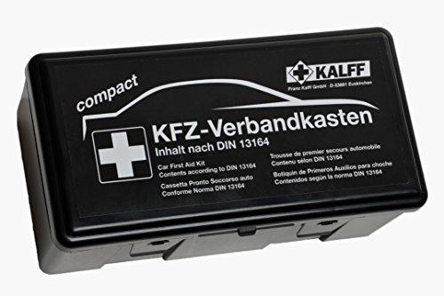 KALFF 23503 Auto Verbandskasten Kompakt Din 13164, Kfz Erste Hilfe...