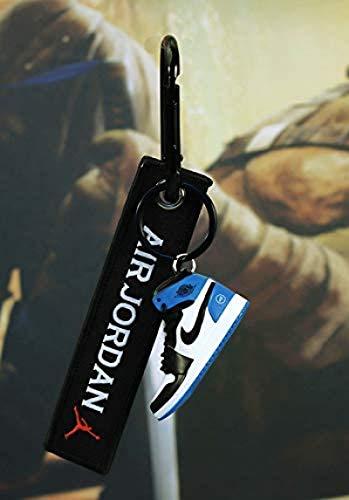WHXJ Schlüsselbund 1 Mini Basketball Schuh Modell Paar Tasche...