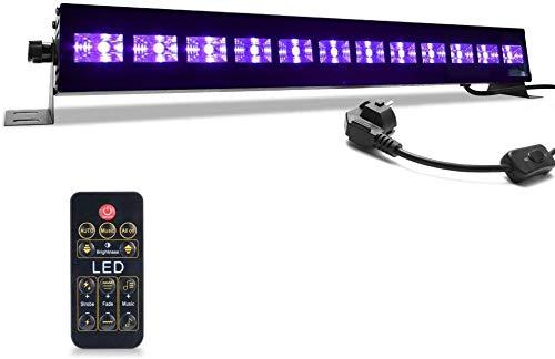 UV LED-Beleuchtung,MICTUNING 36W Bühnen Lichtleiste,UV Schwarzlicht...