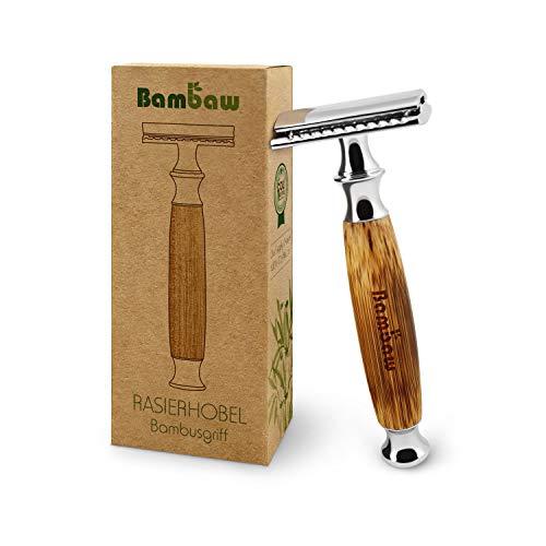 Rasierhobel Damen Und Herren | Safety Razor mit Bambusgriff |...