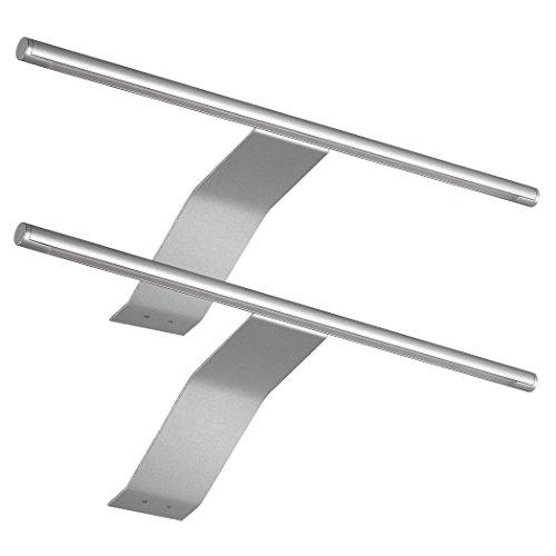 SEBSON® LED Schrankleuchte 2er Set, Aufbauleuchte mit Schalter und...