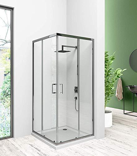 Duschabtrennung,Eckeinstieg Duschkabine, Schiebetür Duschabtrennung...