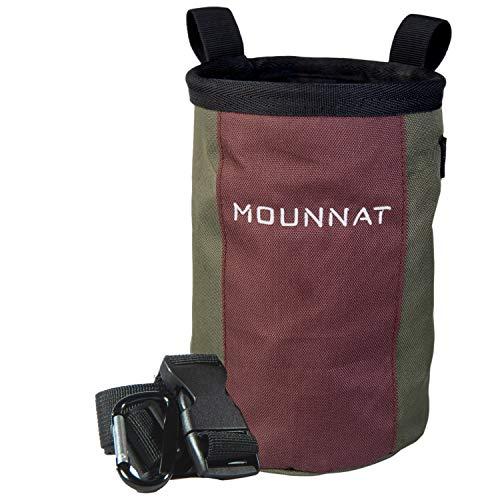 Mounnat Chalk Bag für Bouldern mit großer Öffnung selbststehend |...