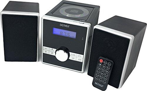 Denver MCA-230 Micro Soundsystem mit PLL-FM Radio, CD-Player und...