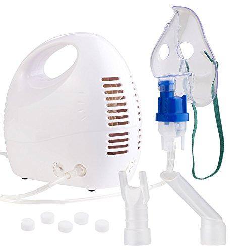 newgen medicals Inhaliergerät: Medizinischer Kompakt-Inhalator für...