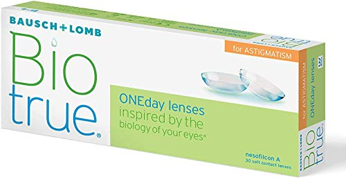 Bausch und Lomb Biotrue ONEday for Astigmatism Tageslinsen, torische...