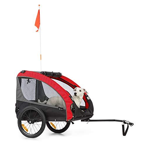 Klarfit Husky Race Fahrrad-Hundeanhänger,ca. 282 Liter...