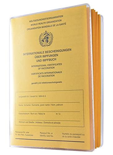 Schutzhülle für Alten Impfpass 155 x 110mm Made in Germany -...