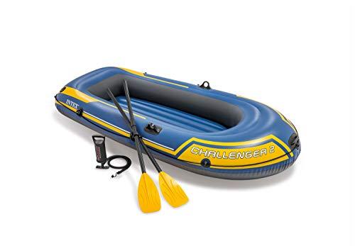 Intex Challenger 2 Set Schlauchboot - 236 x 114 x 41 cm - 3-teilig -...