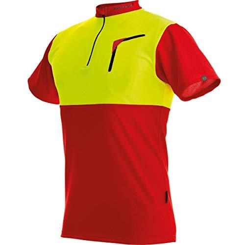 Pfanner Herren Zip-neck Shirt Short Sleeved Forst-Shirt mit Kurzarm,...
