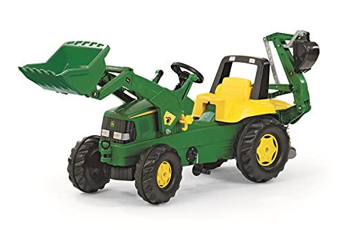 Rolly Toys Traktor / rollyJunior Trettraktor John Deere (mit Lader und...
