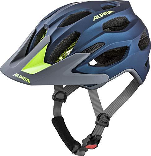 ALPINA Unisex - Erwachsene, CARAPAX 2.0 Fahrradhelm, darkblue-neon,...