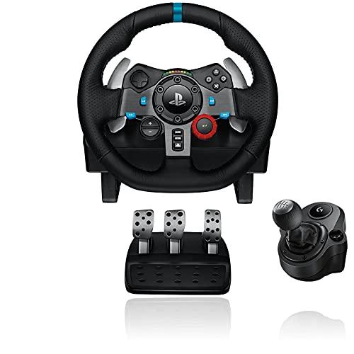Logitech G29 Racing Lenkrad + Logitech Driving Force Shifter...