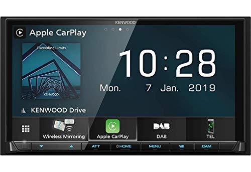 Kenwood DMX8019DABS 17,7 cm WVGA Digital Media Moniceiver mit DAB+,...