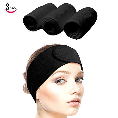 Queta Haarband für Make Up, Kosmetik Stirnband Frottee, verstellbare...