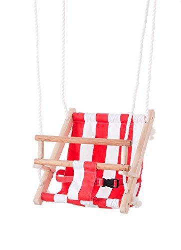 Beluga Spielwaren 70209 TWIPSOLINO Babyschaukel, rot/weiß...