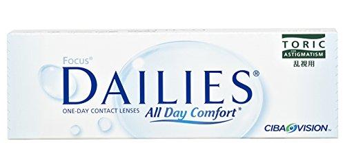 Alcon Focus Dailies Toric Torische Tageslinsen weich, 30 Stück / BC...