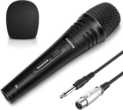 TONOR Dynamischer Mikrofon mit 16,5ft (5,0 Meter) Kabel für...