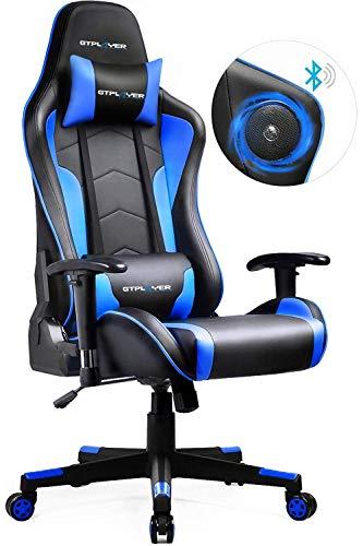 GTPLAYER Gaming Stuhl mit Lautsprecher Bürostuhl Schreibtischstuhl...