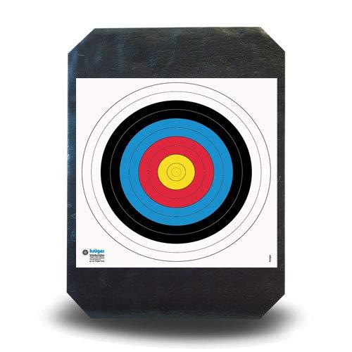 YATE Bogensport Zielscheibe Polimix R 80cm x 60cm 45 lbs für Indoor &...