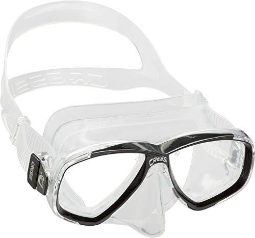 Cressi Unisex-Erwachsene Perla Mask Separate Glastauchmaske zum...