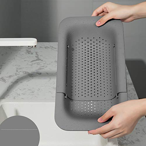 LACKINGONE Waschbecken Filterablage Multifunktionaler Küche...