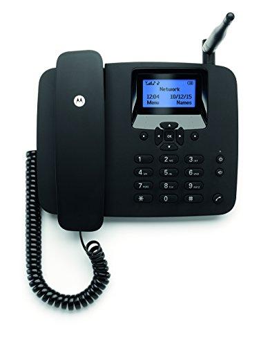 Motorola FW200L GSM Tischtelefon für 2G Mobilfunknetz (GSM Quadband:...