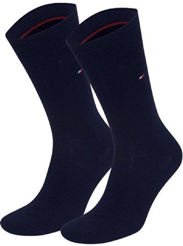 Tommy Hilfiger Herren Classic Casual Business Socken 6er Pack schwarz...