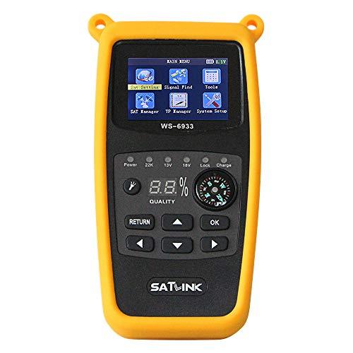 Satlink WS-6933 Camping Satfinder HD DVB-S + DVB-S2 8PSK SAT...