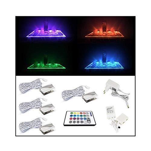 BASON LED Glasbodenbeleuchtung, Glaskantenbeleuchtung, LED...