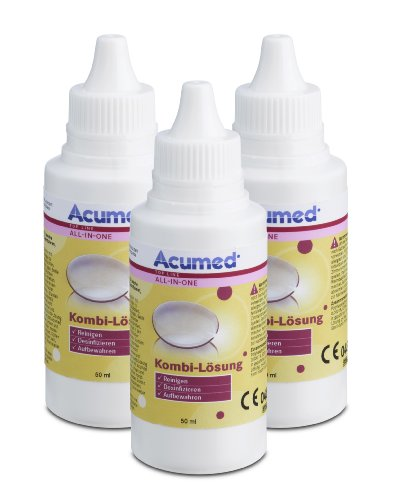Acumed 3212 Kombi-Lösung Pocket 3er Set, 150 ml