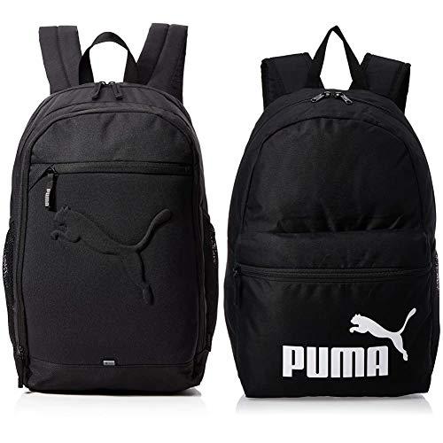 PUMA Rucksack Buzz Backpack, black, OSFA, 73581 01 & Unisex-Adult...